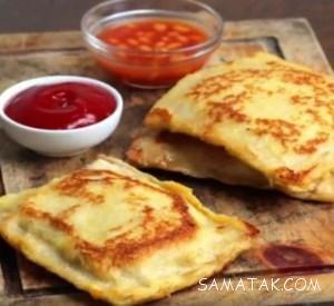 ساندویچ صبحانه برای کودکان | ساندویچ صبحانه برای مدرسه