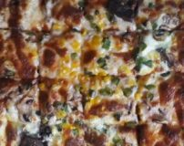 طرز تهیه پیتزا زبان گوساله و قارچ