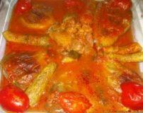 طرز تهیه خورش کدو سبز با مرغ و غوره