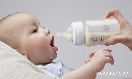 غذا دادن به کودک 4 ماهه صحیح است یا غلط؟