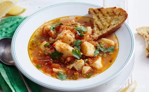 طرز تهیه سوپ ماهی برای کودکان با 2 روش طبخ