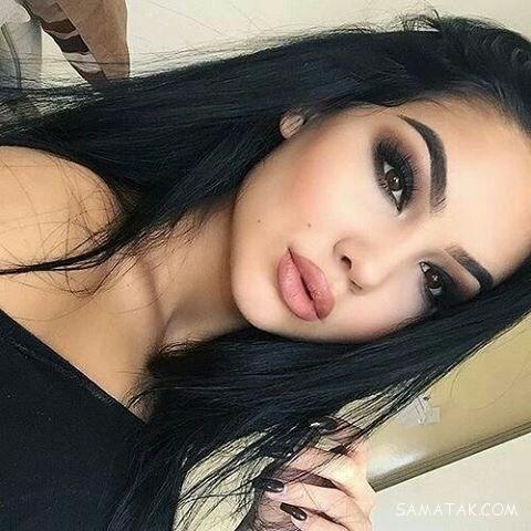 مدل آرایش صورت ملایم 2019