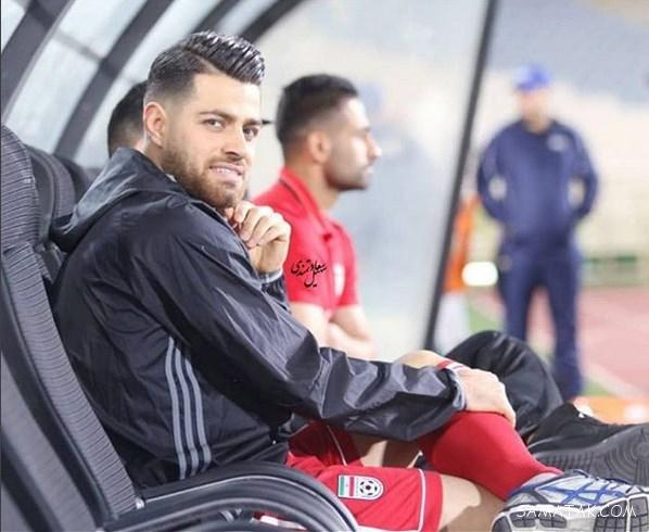 """بیوگرافی """"مرتضی پورعلی گنجی"""" فوتبالیست تیم ملی و همسرش"""