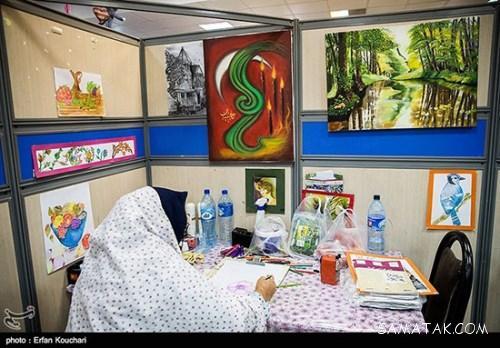عکس های زنان مطلقه و دختران مجرد در زندان زنان تهران