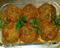 طرز تهیه کوفته برنجی با گوشت چرخ کرده غذای محلی اصفهانی
