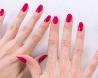 درمان خانگی ناخن شکسته دست از وسط