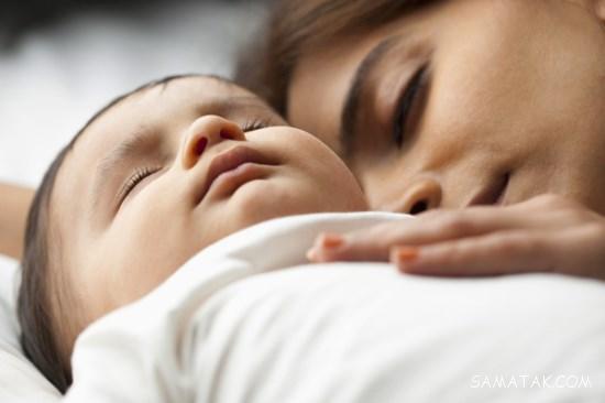علت نخوابیدن نوزاد یک ماهه - دو ماهه - سه ماهه - چهار ماهه - شش ماهه