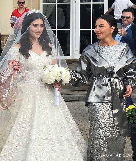 جشن عروسی پولدارترین مرد جهان با دختر فقیر + تصاویر