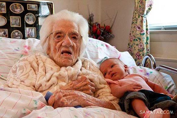 پیرترین زنی که در سن 75 سالگی حامله شد + تصاویر