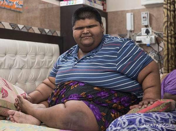 چاق ترین مرد جهان چند کیلو است + تصاویر