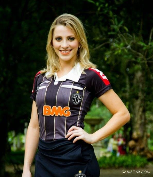 فرناندا کلمبو زیباترین داور زن 26 ساله در مسابقات فوتبال