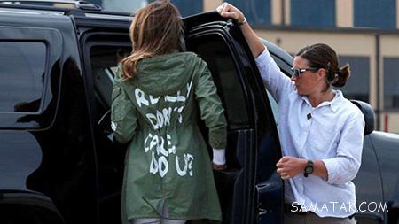 شیک ترین مدل لباس های ملانیا ترامپ بانوی اول و مانکن آمریکایی