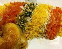 طریقه پختن شکر پلو شیرازی | طرز پختن شکر پلو شیرازی
