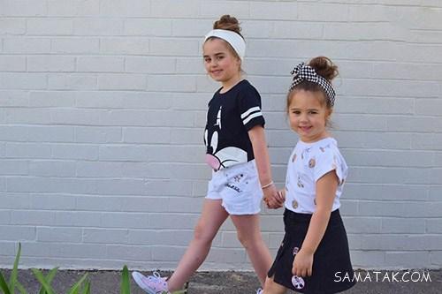 انواع لباس تابستانی بچه گانه دخترانه طرحدار و ساده