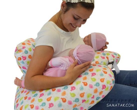 نحوه شیر دادن به نوزاد دوقلو از بدو تولد تا دوسالگی
