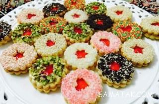 دستور پخت و طرز تهیه شیرینی مربایی مشهدی