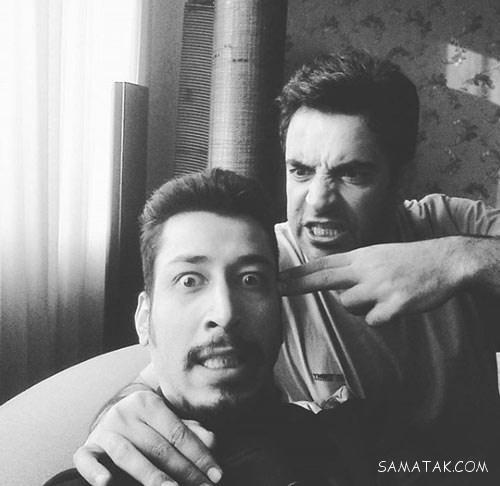 بیوگرافی بهرام افشاری قد بلندترین بازیگر 31 ساله + عکس همسرش