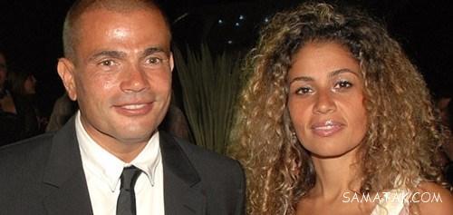 """بیوگرافی و عکس های """"عمرو دیاب"""" خواننده 57 ساله مصری"""