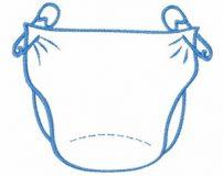فواید استفاده از کهنه برای نوزاد بجای پوشک های گران قیمت