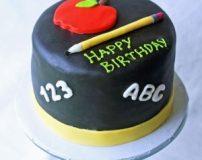 انواع مدلهای کیک جشن الفبا پایه اول | تزیین کاپ کیک برای جشن الفبا