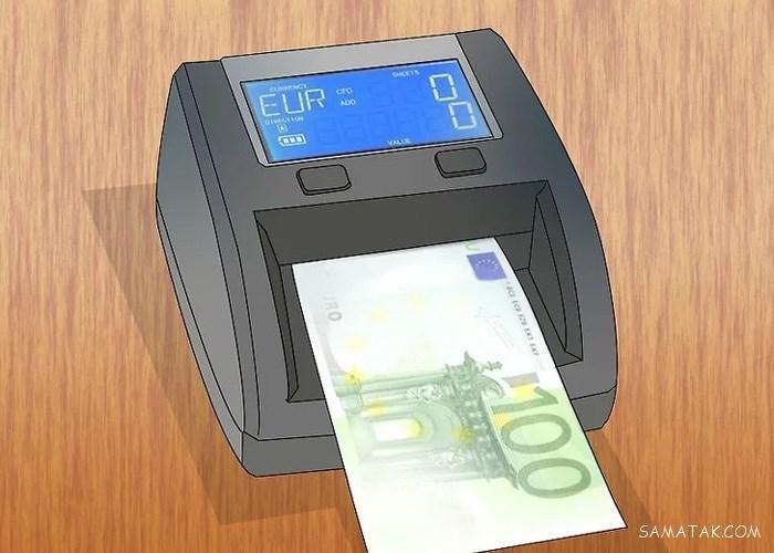 روش تشخیص یورو اصل از تقلبی | چگونگی تشخیص یورو تقلبی