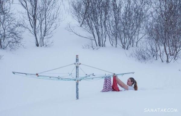 اس ام اس در مورد برف و زمستان | پیام تبریک آغاز زمستان