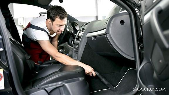 روش از بین بردن بوی شیر داخل ماشین | رفع بوی سیگار از داخل ماشین