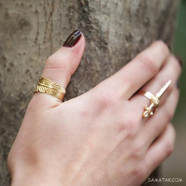 تعبیر خواب انگشتر طلا - نقره - نگین دار   تعبیر خواب گم شدن انگشتر