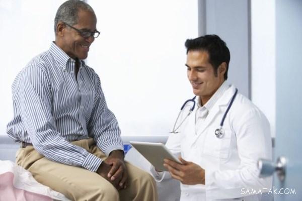 مواد غذایی کوچک کننده پروستات مردان میانسال و مسن
