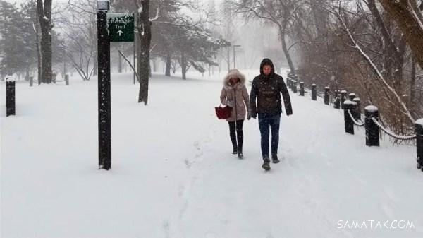 تعبیر خواب دیدن برف سنگین | تعبیر خواب برف در تابستان چیست