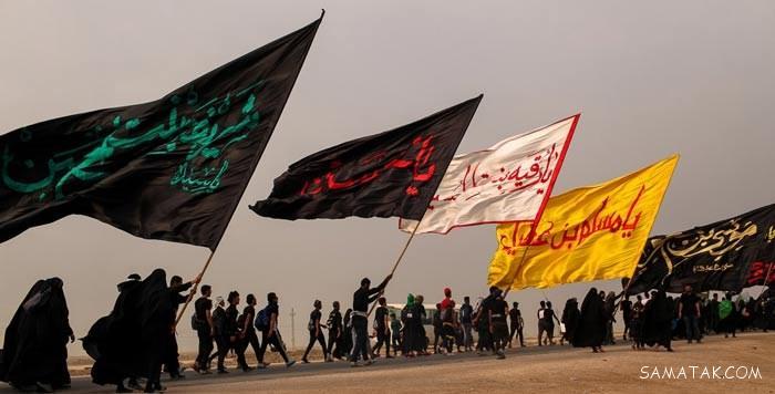 زیباترین متن ها و عکس پروفایل جاماندگان اربعین حسینی