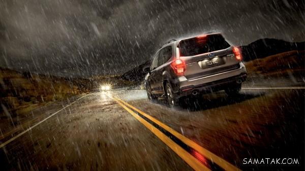 تکنیک های رانندگی در باران و جاده خیس | نکات رانندگی در جاده بارانی