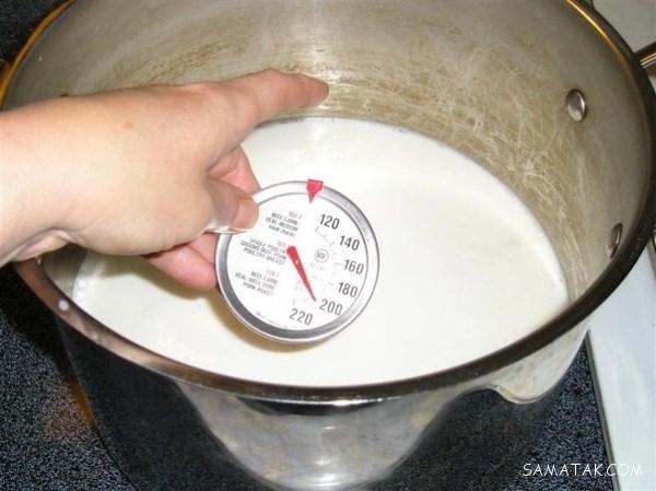 نحوه صحیح جوشاندن شیر محلی | بهترین زمان جوشاندن شیر محلی