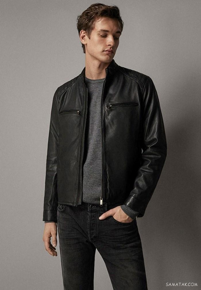 ۷۰ مدل کاپشن چرم مردانه اسپرت + روش نگهداری کاپشن چرم مصنوعی