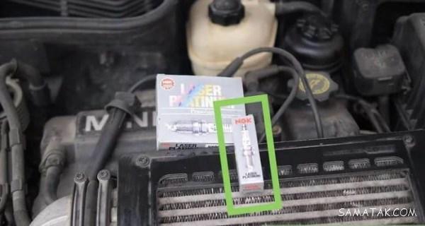 آموزش تصویری نحوه تعویض شمع خودرو پراید - 206 - سمند - تیبا - پژو پارس