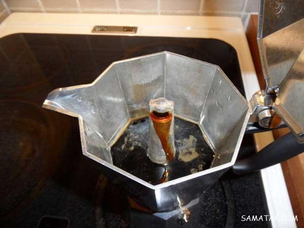 طرز دم كردن قهوه اسپرسو با موکاپات (آموزش تصویری)