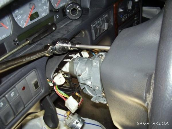 نحوه روشن كردن ماشين بدون سوئيچ | روشن كردن خودرو ایموبلایزر دار بدون سوئيچ
