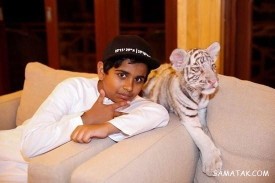 پولدارترین پسر عرب با زندگی لاکچری در دبی + تصاویر