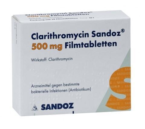 قرص کلاریترومایسین۵۰۰ برای چیست   قرص کلاریترومایسین و تلخی دهان