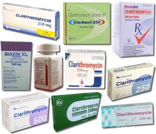 قرص کلاریترومایسین۵۰۰ برای چیست | قرص کلاریترومایسین و تلخی دهان