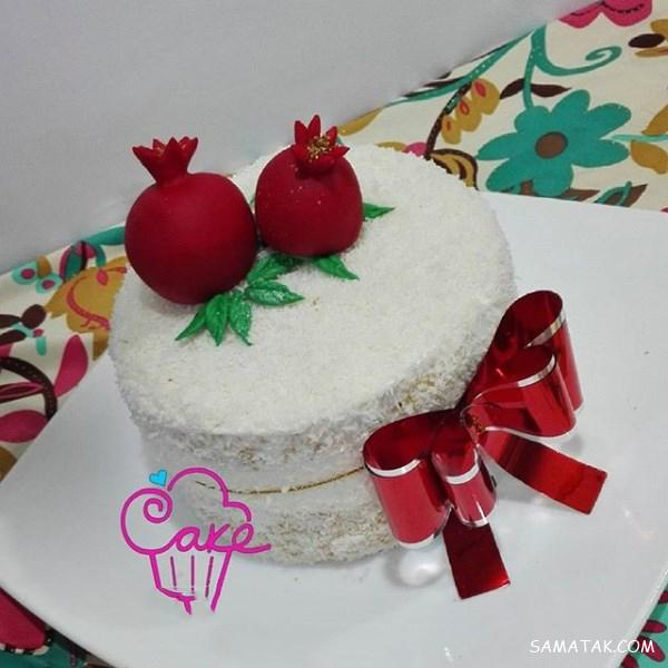 طرز تهیه انواع کیک شب یلدا + انواع مدل کیک برای شب یلدا