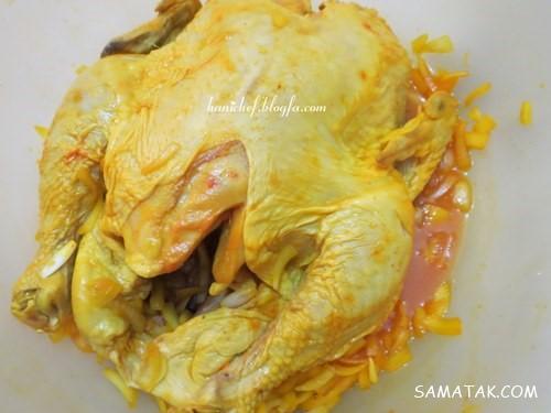 طرز تهیه لونگی مرغ در قابلمه + طرز تهیه لونگی مرغ در فر غذای محلی آستارا