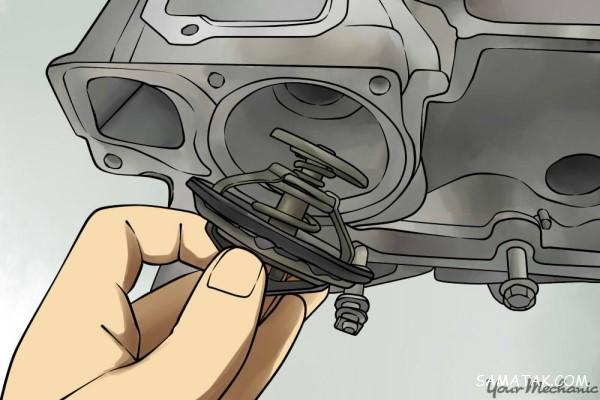 چگونه بفهمیم ترموستات ماشین خراب است | برداشتن ترموستات ماشین در تابستان