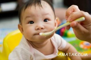 نحوه دادن بادام زمینی به کودک | زمان دادن کره بادام زمینی به کودک