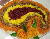 دستور پخت هویج پلو شیرازی با گوشت چرخ کرده | چگونه هویج پلو شیرازی درست کنیم