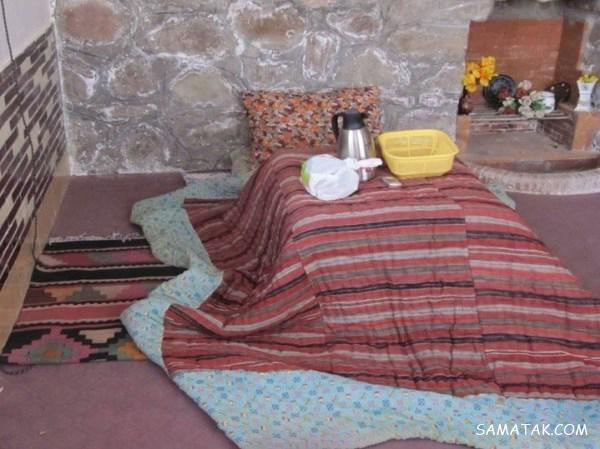 مدل کرسی برای شب یلدا | عکس مدل کرسی های سنتی و قدیمی