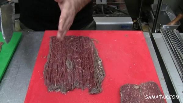 طرز تهیه کباب برگ به روش رستورانی | چگونه کباب برگ نرم درست کنیم