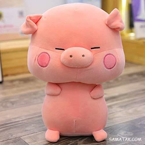 عروسک نمدی خوک برای هفت سین سال ۹۸ | عروسک نمدی برای سال خوک