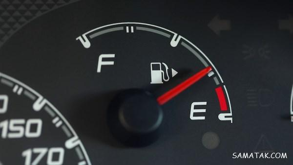 چراغ بنزین روشن شود چند کیلومتر میرود | از روشن شدن چراغ بنزين چند لیتر داریم