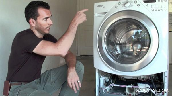 رفع بوی فاضلاب ماشین لباسشویی   برای رفع بوی بد ماشین لباسشویی چه باید کرد